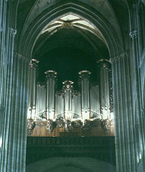 Orgel in der Kathedrale Notre-Dame, Paris